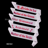 Hen Party Wedding Bride To be Sash