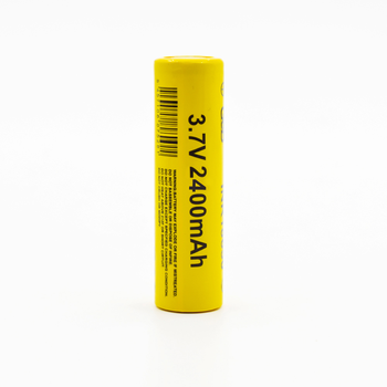 Hot product 18650 lithium ion battery cell 3.7V 2400mAh rechargeable battery for flashlight