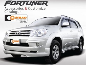DRESS UP PACKAGE TOYOTA FORTUNER SINBAD CAR
