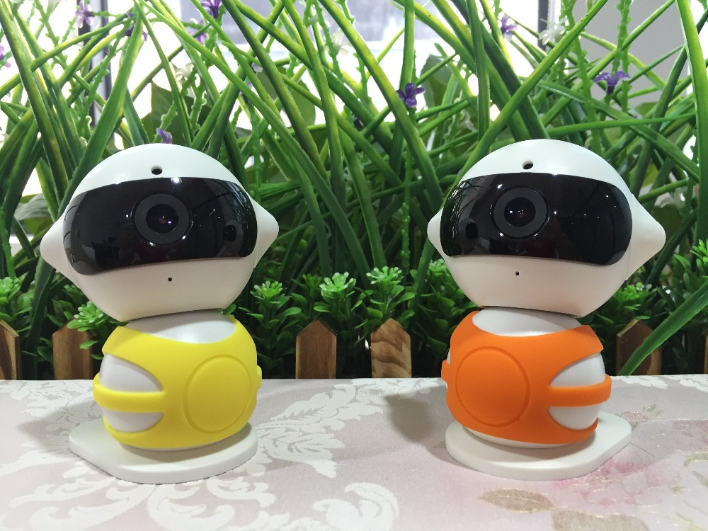 New Products Two Way Audio Alarm Push Mini Robot Wifi Wireless IP camera