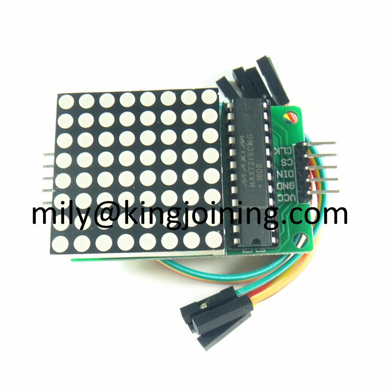 KJ216 microcontroller 8x8 led Display MAX7219 Dot Matrix Module for Arduinos DIY