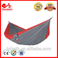 Goodwin Hammock-Lightweight Portable Nylon Parachute Hammock Hammock Tree Straps and Insert Stuff bag