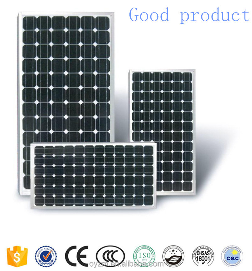 Good product Mono solar panel 250W Chinese supplier