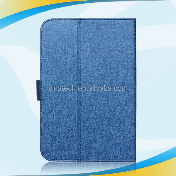 2015 Slim Flip Genuine Leather tablet case for kindle fire hdx 8.9