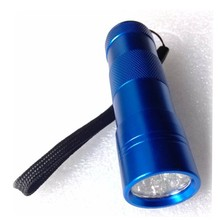 black flashlight fluorescent agent detector