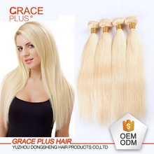 wholesale brazilian hair bundles long lasting enhanced texture colored blonde human hair silky straight