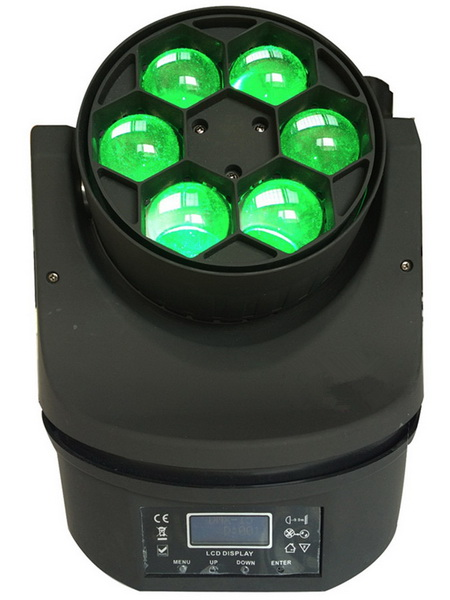 6 x10W RGBW 4in1 Zoom Wash Beam LED Bee Eyes Moving Head lights for stage disco