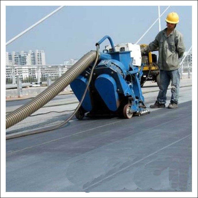 shot blast cleaning machine for concrete floor