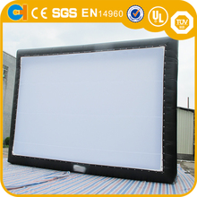 BIG inflatable movie screen , inflatable projector screens inflatable snow globe