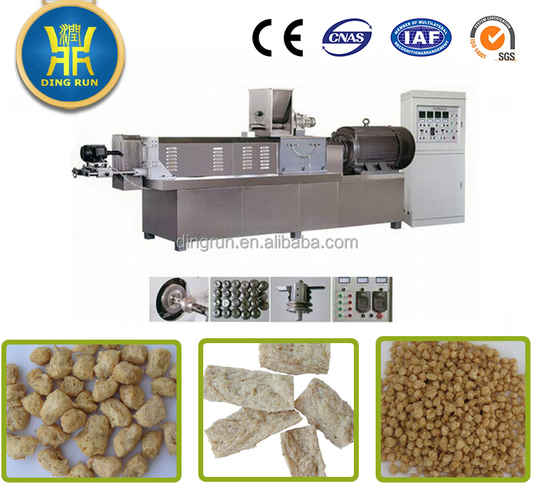 soy meat making machine textured vegetable protein production line