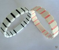 silicone colorful Great Wall bracelet wristband