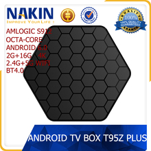 Android 6.0 amlogic s912 octa core 4k kodi tv box T95Z Plus