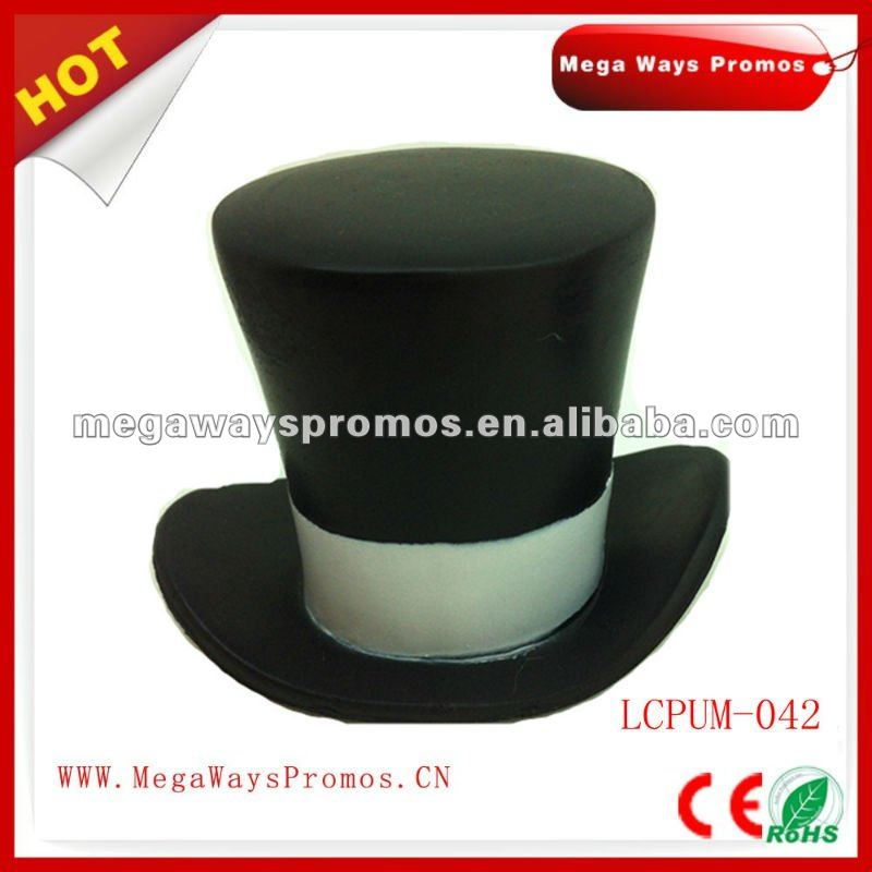 PU Stess Top Hat Toy