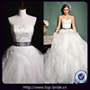S660 Real Photo Puffly Crystal Bridal Purple Wedding Dresses