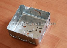 "4""X4""Square Mexico hot sales galvanized electrical metal switch box"