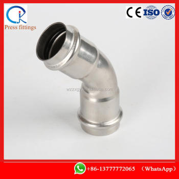 press fittings sus press elbow