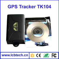 2015 Brand new car gps tracker gps tracking system gps tracker 104 with Over speed and Low battery alarm