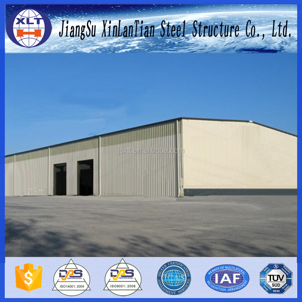 Design steel frame factory buildings low cost industrial shed structural steel warehouse modular building for sale