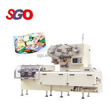 Electric Fairy Floss Sugar Cotton cut and wrap candy bubble gum making machine