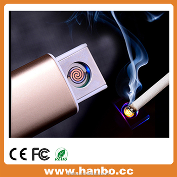 USB electronic lighter Men'S Cigarette Lighters