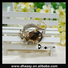 Hot sell fashion lizard brooches for men