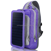 Factory Price Bright Color Solar Backpack