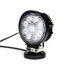 Led 12v work lights 27w led work light spot flood portable Auto lights 27w