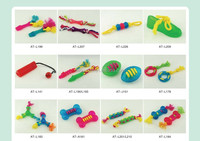 colorful pet toys with different design models for cats to play