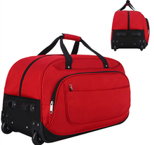 Wholesale stylish durable cover neoprene travel trolley luggage bag