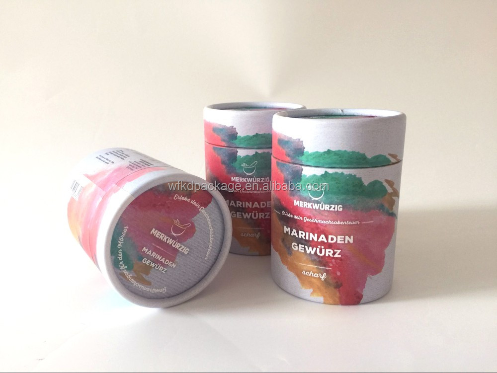Composite Food Paper Can for Tea / Dried Fruit