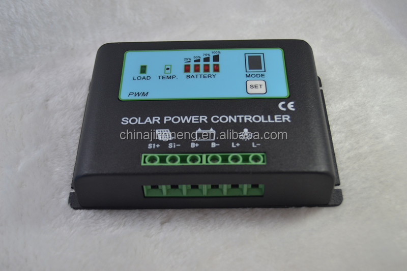 30A Solar Panel Power Battery Charge Controller / Regulator 12V / 24V 30 Amp with PWM Type of Charging