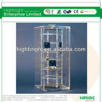 Acrylic revolving earring security case
