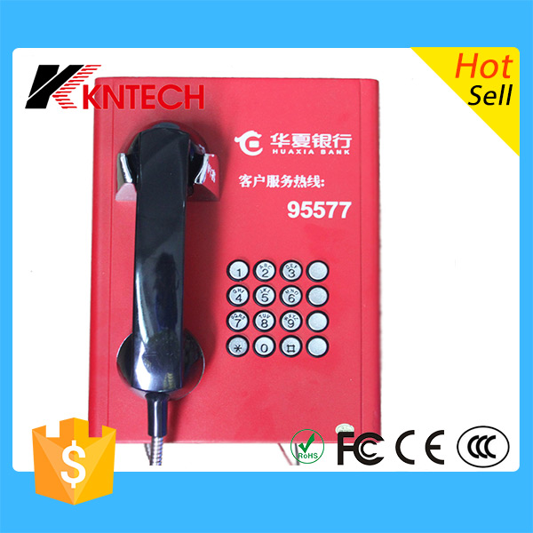 High performance KNSP-08 ip67 sos emergency telephone Waterproof IP intercom system illuminated keypad