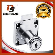 138-32 Steel keys zinc alloy desk drawer lock