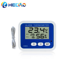 highest/lowest temperature alarm function digital hygro-thermometer