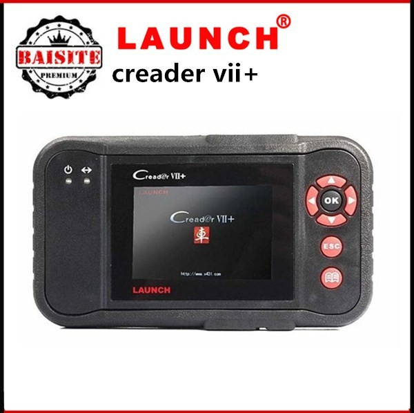 [Authorized Distributor] Launch X431 Creader 7 VII+ Creader VII Plus Auto Code Reader OBD2 Diagnostic tool FREE UPDATE hot sales