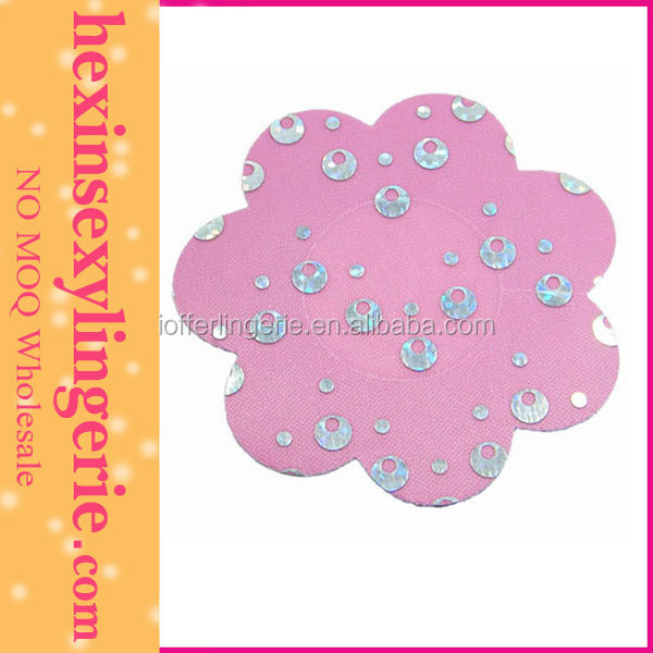Fashion Woman Sexy Nipple Cover Pink