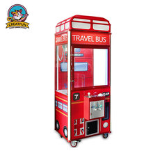 England style coin operated toy crane claw machine for sale Malaysia