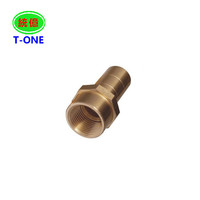 brass cnc knurling turned parts cnc machining of metal parts copper components part