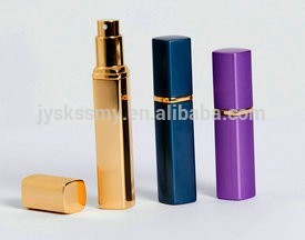 all kinds of color cosmetic aluminum perfume bottle P024