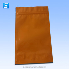 For mobile phone case packing plastic custom zip lock bags foiled