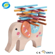2017 New Elephant Balance Wood Toy for Children
