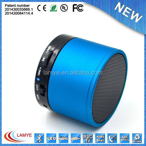 Distributor oem portable rohs mini bluetooth speaker with fm radio
