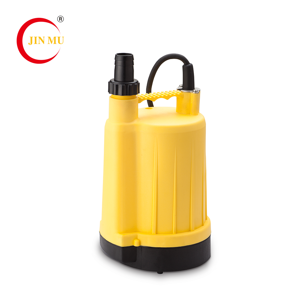 China factory yellow portable submersible sewage water plastic pump for sale