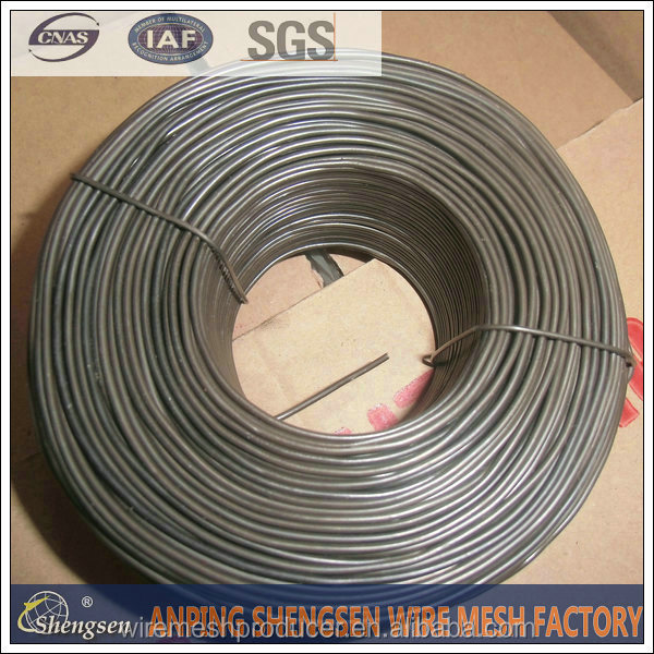 16 gauge black annealed tie wire soft annealed iron wire with low prices ISO9001 certificate