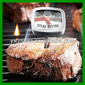 Household BBQ steak/beef dial mini food meat thermometer
