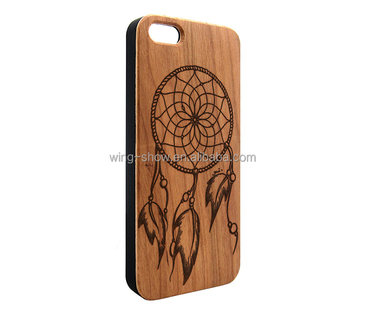 2018 New arrival cell phone accessories wooden case for iphone 6,wood mobile phone housing