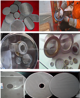 Stainless Steel Wire Mesh Cylinder Filter Of Stainless Steel Wire Mesh