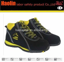 HL-A090 Yellow color best selling light sport shoes,fashion industrial shoes