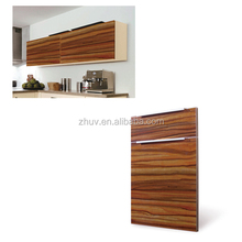 UV Paint High Glossy Kitchen Cabinet Door panel from ZH Company in China